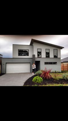 houzz australia render facade colours - Google Search