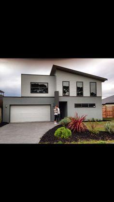 houzz australia render facade colours - Google Search