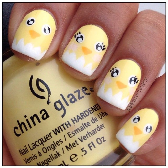 imichelley easter #nail #nails #nailart