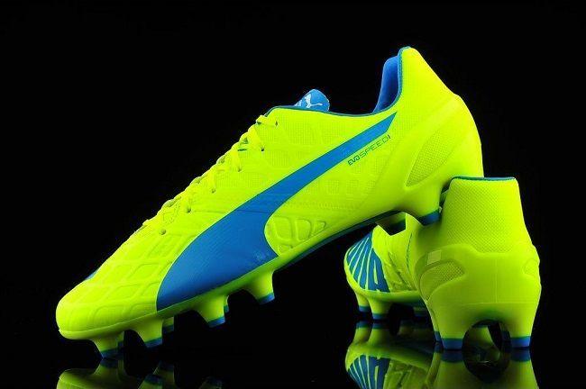 Buty piłkarskie Puma evoSpeed 1.4 FG #puma #football #soccer #sports #pilkanozna #futbol