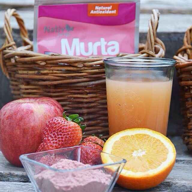 #DatoNativ Agrega 1⁄2 cdta de tus polvos #SuperFruta a tu batido de frutas favorito y acompaña saludablemente tus ricas preparaciones este 18.⚪️
