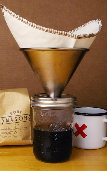 Mason Jar Coffeemaker by Intelligent Design Company