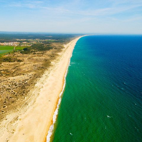 Why beautiful, discreet Comporta is Portugal's chicest beach retreat - via The Telegraph 19-01-2018   Set on a fertile strip of the Alentejo coast, its single-storey houses (occasionally thatched) sit alongside a patchwork of bright green rice paddies that give way to miles of sand dunes and powerful surf. The surrounding area is cloaked by swathes of sweet-smelling pine and cork forests that mask beautiful, modernist glass villas, many built on stilts above the sand and some available to…