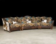 I can dream right? Southwestern Turquoise Sectional