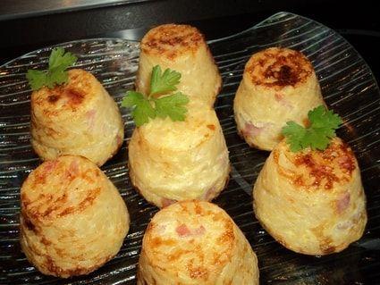 Muffins en gratin de coquillettes