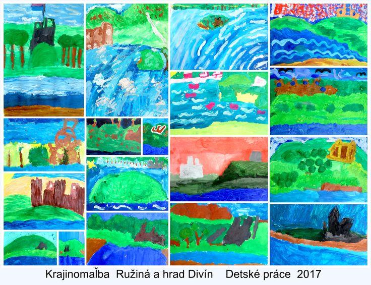 Art project kids Castle Divín Ružiná