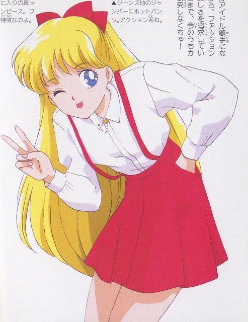Sailor Moon  #sailorvenus #mina #minako