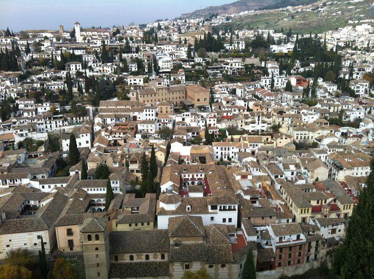 Cerrar los ojos y volver allí... #Granada #Alhambra #Andalucia