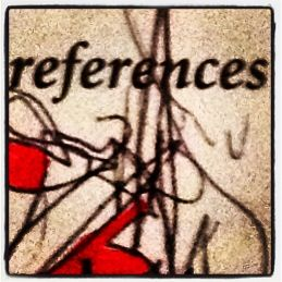 'references'  left-handed drawing on apa manual by aliza tucker