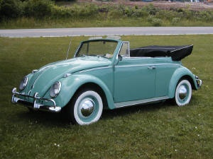 Volkswagen Convertible ...luv them......had a cute red one!