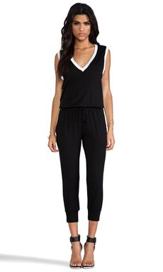 Riller & Fount Danny Jumpsuit In Black & White WAS $238.15 NOW $167.50 http://www.richgurl.com/linkout/2349797