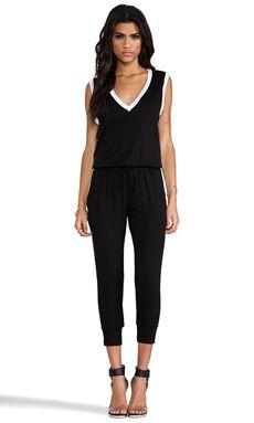 Riller & Fount Danny Jumpsuit In Black & White WAS $238.15 NOW $167.50 http://www.richgurl.com/linkout/2349797