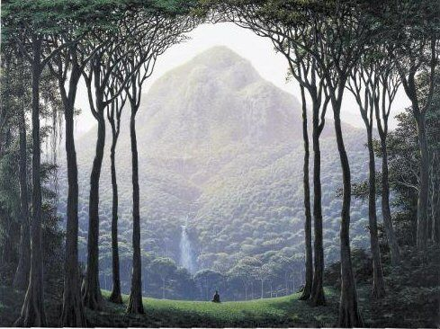 """Tomás Sánchez 1948 ~ Cuban Landscape painter 