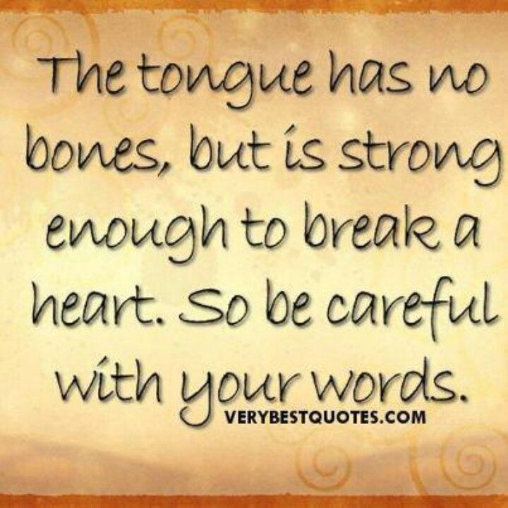 This Is So True Hurtful Words Can Hurt More Than A Punch To The