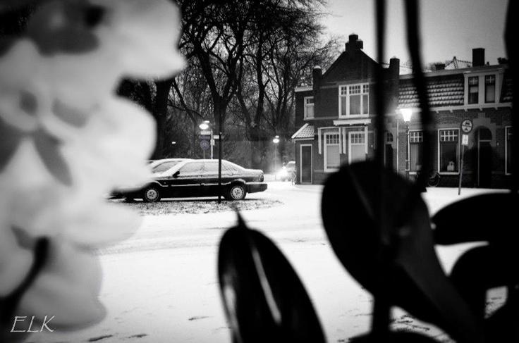#Sneeuw in #Enkhuizen...