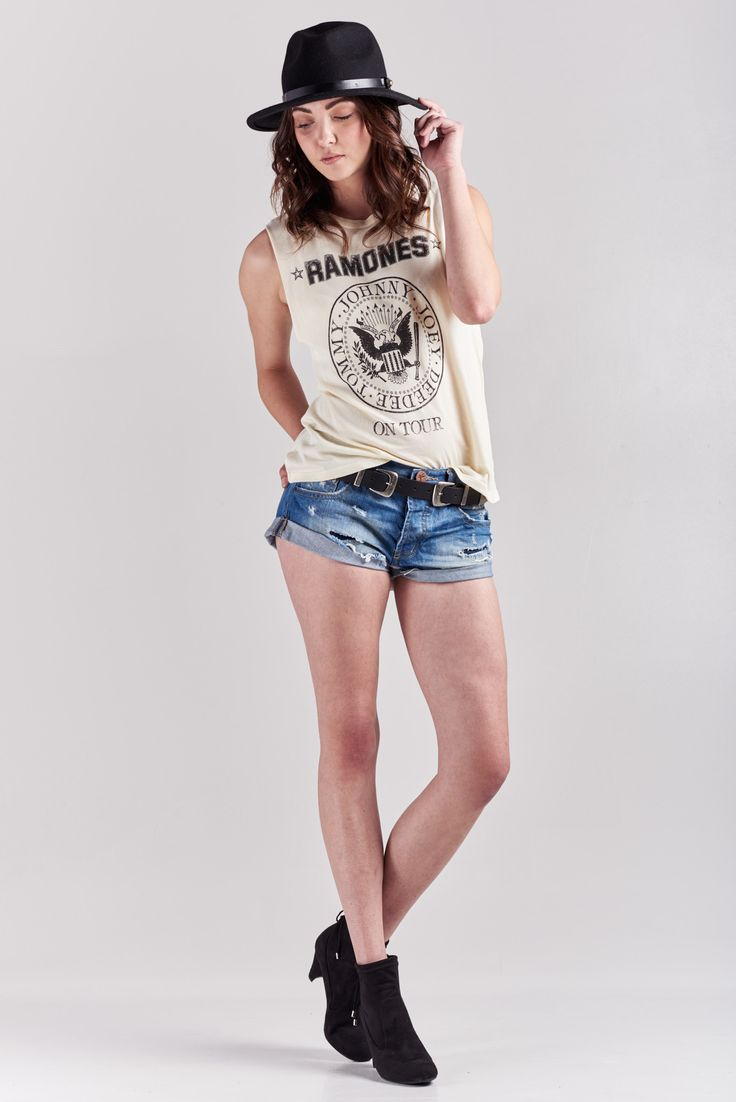 One Teaspoon Blue Cult Bandits Denim Shorts