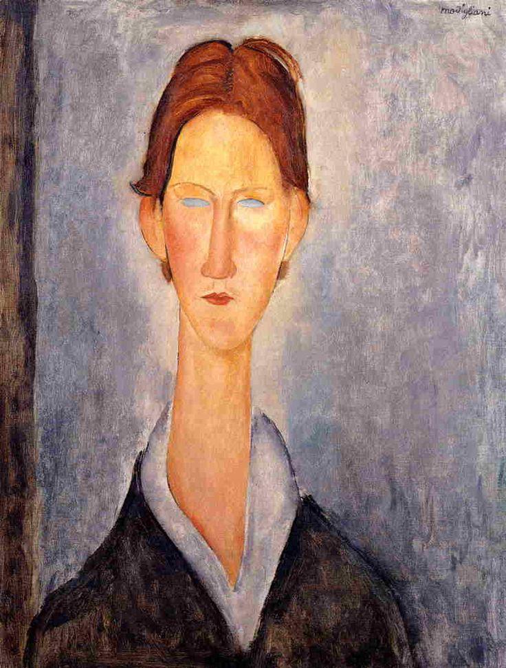 Young Man (Student), 1919  Amedeo Modigliani