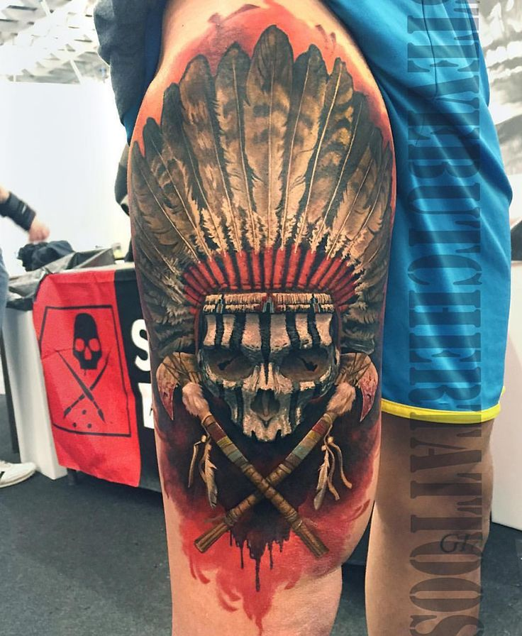 Indian Chief Tattoo