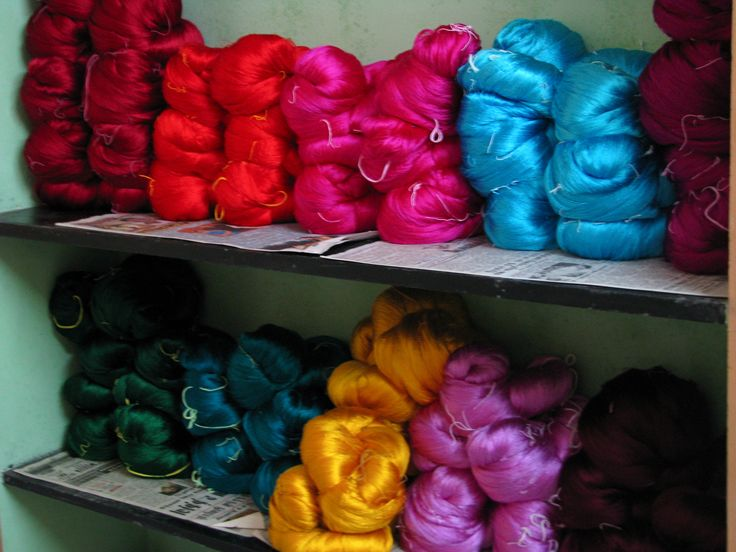 how silk fabric is made google search