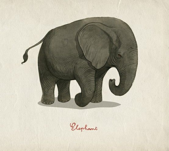 1000+ ideas about Simple Elephant Drawing on Pinterest | Simple ...