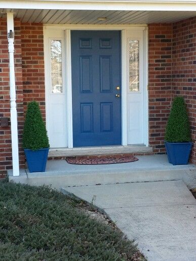 My Tardis Blue Front Door Front Door Ideas Pinterest