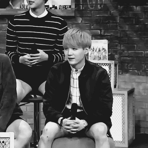 You okay Suga...? Nah. That's just him. BTS XD Damn... look at those legs