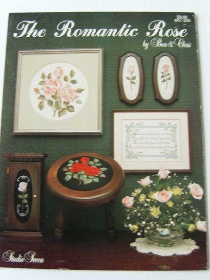 Romantic Rose Cross Stitch Booklet