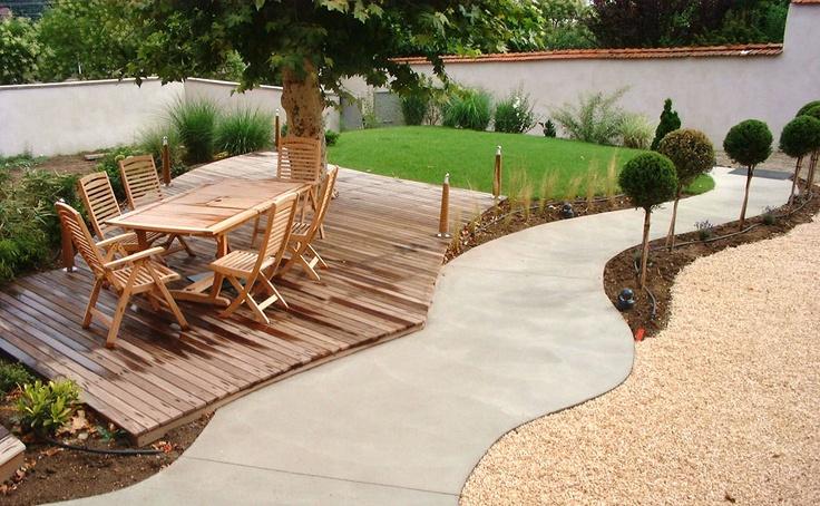 Terrasse autour d 39 un arbre servons nous de la nature for Parasol impermeable terrasse