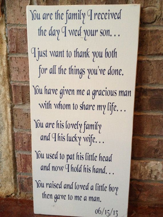 Mother-In-Law and Father-In-Law Gift by FussyMussyDesigns on Etsy