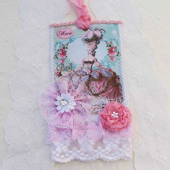 Tag Lace Marie Antoinette Lace Vintage Shabby by EnchantedQuilling