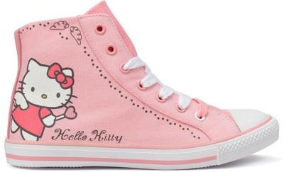 I found 'Hello Kitty Converse' on Wish, check it out!
