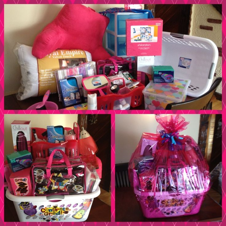 College Dorm Room Survival Gift Basket I wish someone  ~ 074128_Dorm Room Gift Basket Ideas