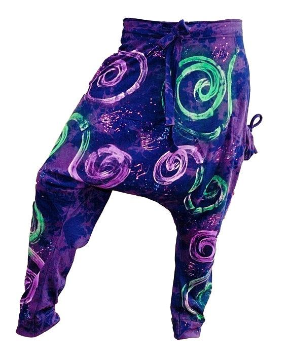 Unisex Colorful Thai Harem Pants by AsianCraftShop on Etsy, $30.00