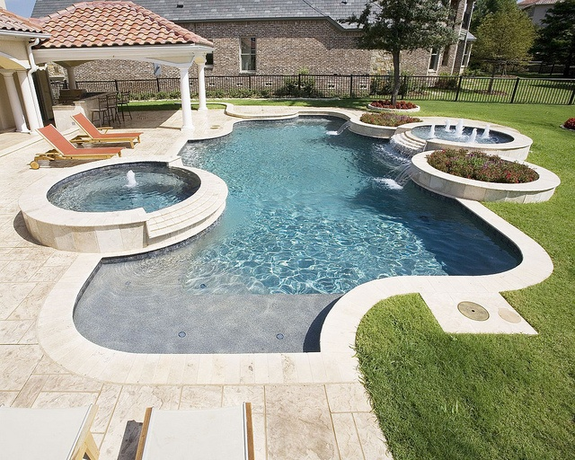 28 best images about our pools on pinterest luxury for Pool design okc