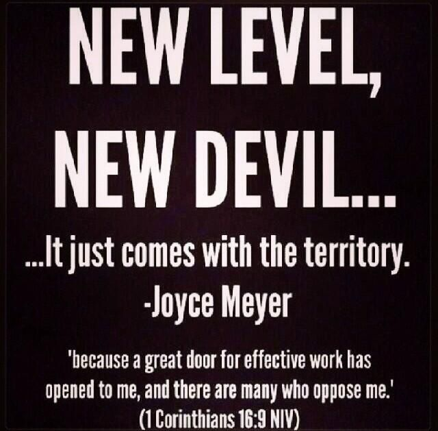 """Cool And Smart Quotes About: """"New Level, New Devil"""""""