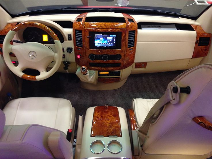 VIP LIMO Mini Bus inside