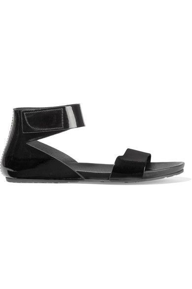 Pedro Garcia - Joline Patent-leather Sandals - Black - IT39.5