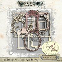 G & T DESIGNS LOVE IS EVERYWHERE FRAMES ADDON