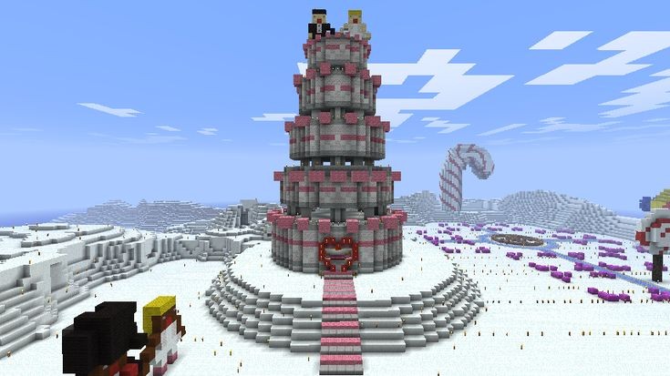 Pixel Art Wedding Cake : Minecraft - Wedding Cake by Ludolik.deviantart.com ...