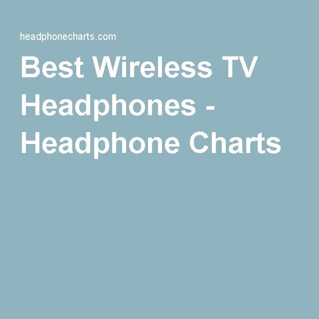 Best Wireless TV Headphones - Headphone Charts