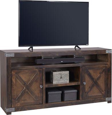 Aspen Urban Farmhouse 65-Inch Tobacco TV Stand