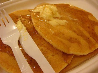 I am not sure how McDonald's does two things: have the most amazing Coke from the fountain AND have amazing hotcakes. My husband LOVES co...