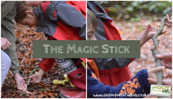 Sticks have been voted the most universal toy. Well here's another thing they're good for: The Magic Stick Game. Fun to try when out with the kids.
