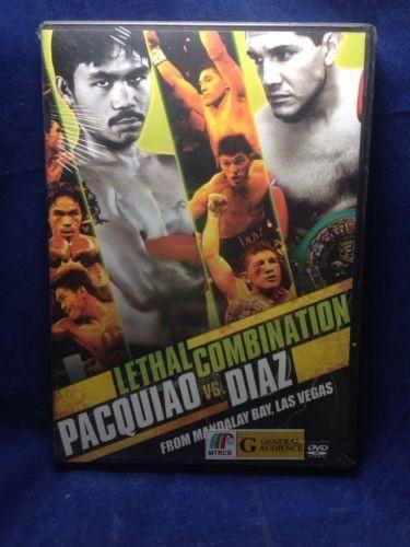 Pacquiao VS. Diaz Fight Filipino DVD