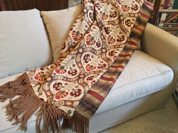 Moroccan Throw Blanket, Exotic Throws, Luxurious Bedding, Wall Hanging,  Tapestry, Tribal