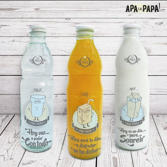 botellas de vidrio decoradas - Buscar con Google