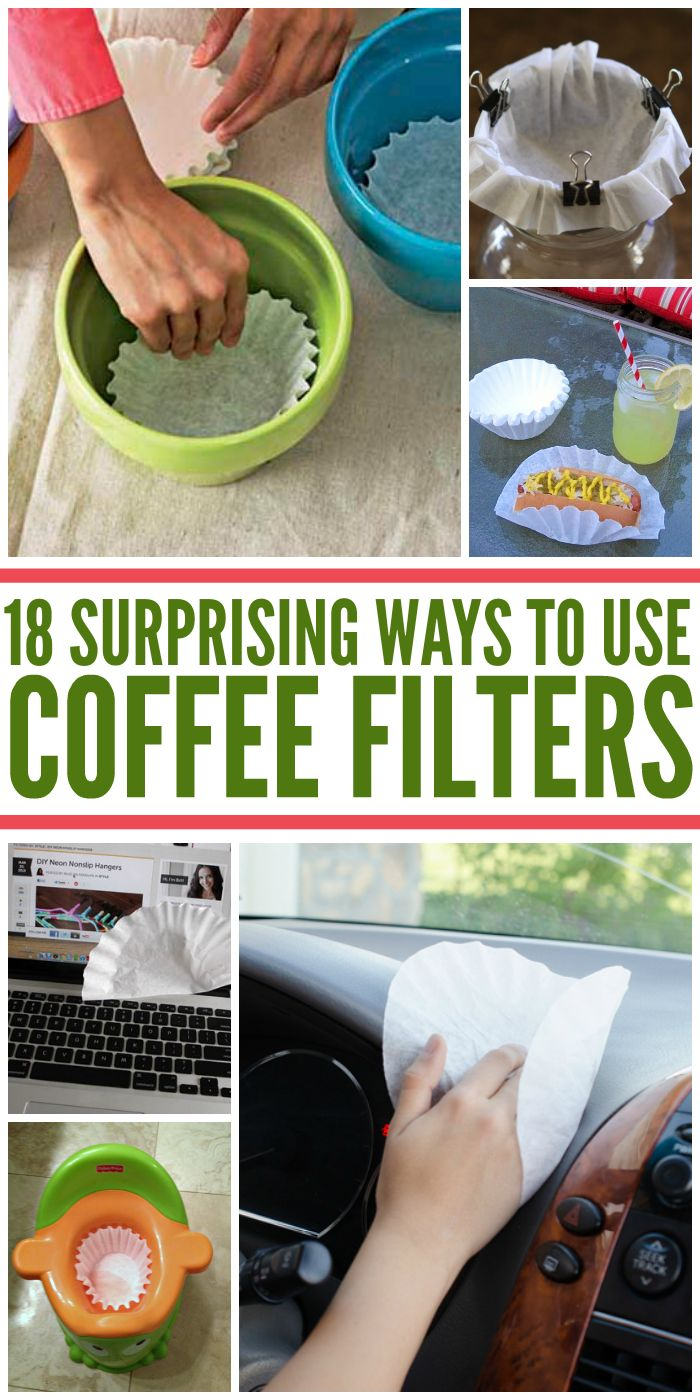18 surprising coffee filter uses - Coffee Filter Uses