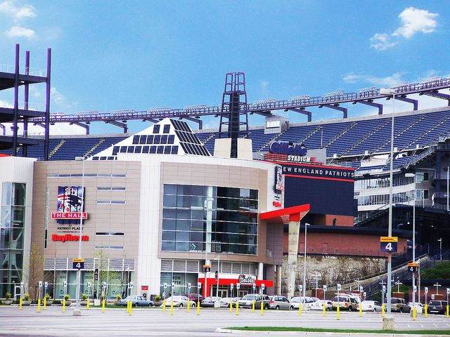 Foxborough, Massachusetts  USA (NE Patriots Hall of Fame & Patriots Place) by Evergreen Solar, via Flickr