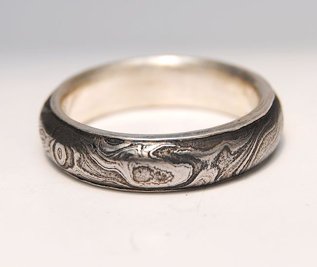 Men's Ring Damascus Steel                                                                                                                                                                                 More