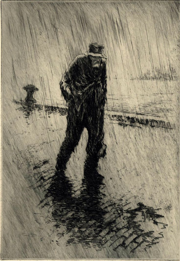 Paul F. Berdanier (1879-1961) etching, dry point A range of etching is used mainly hatching to create the atmosphere and cross hatching for the gentlemens body .